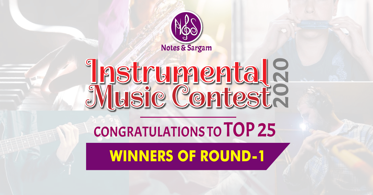 notes and sargam contest result